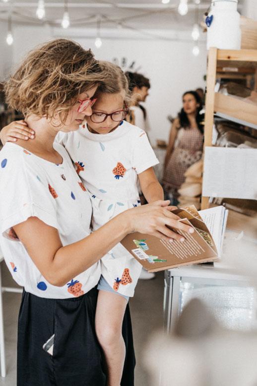 Udržateľné nákupy s deťmi