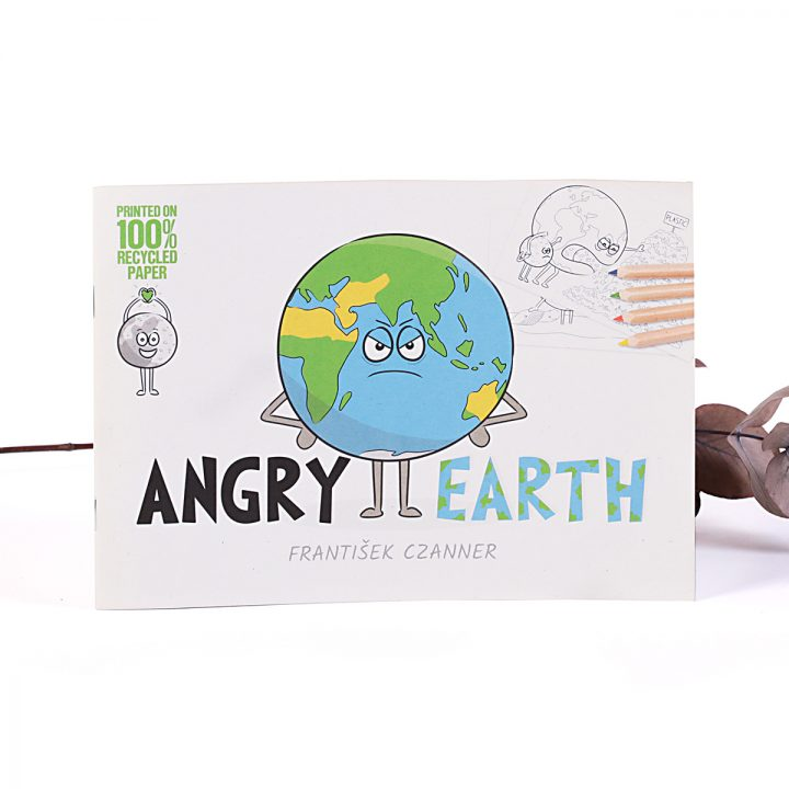 omaľovánka pre deti Angry Earth