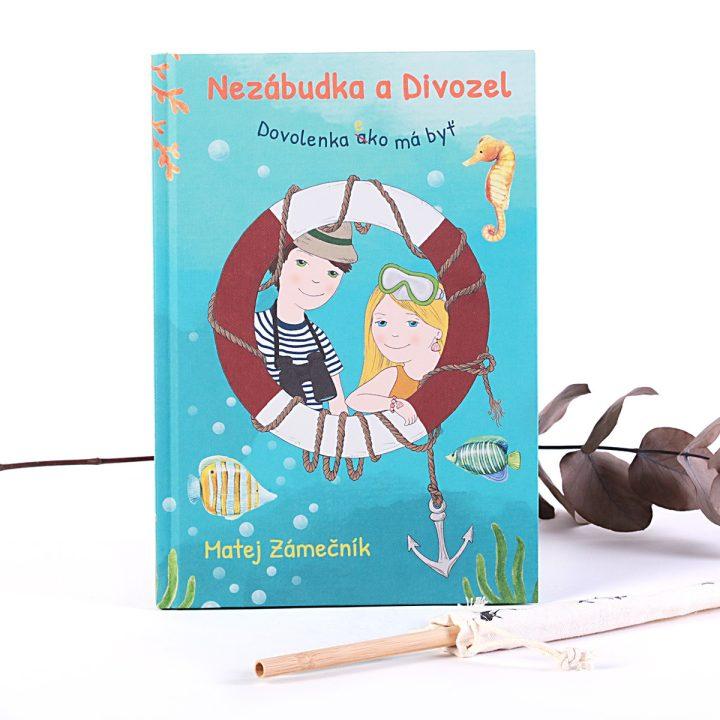detská knižka pre deti o ekológii Nezábudka a Divozel