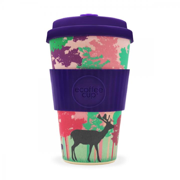 Bambusový pohár 400ml - Frankly My Deer
