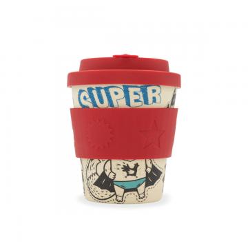 Bambusový pohár 240ml - Superhero fuel