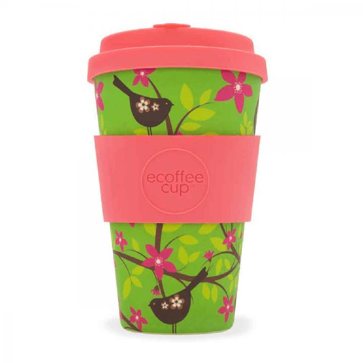 Bambusový pohár 400ml - Widdlebirdy