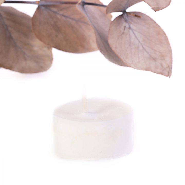 sójová sviečka čajová prírodná