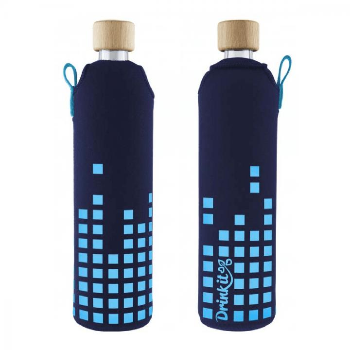 Sklenená fľaša Kolorka