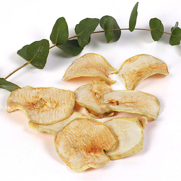 jablkové lupienky sušené jablká