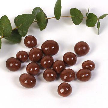 lieskové orechy v mliečnej čokoláde