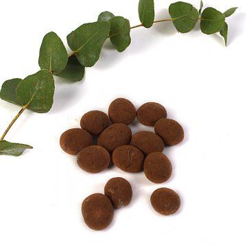 mandle v čokoláde a škorici
