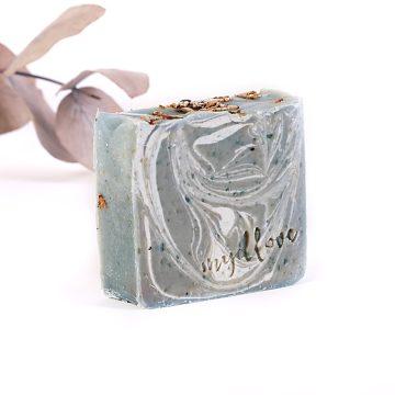 Prírodné mydlo na suchú pokožku z kozieho mlieka levanduľa