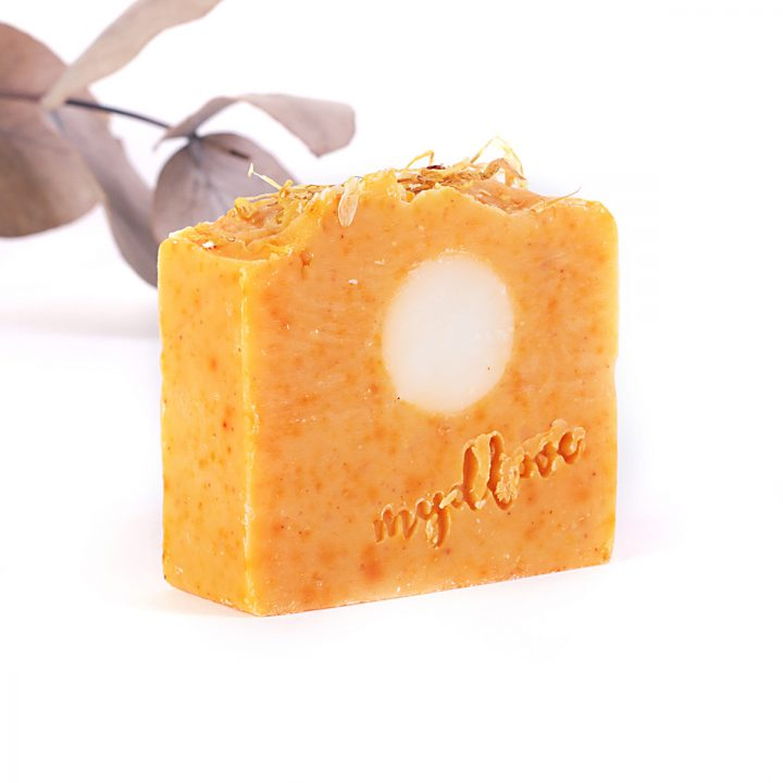 Mydlo z kozieho mlieka nechtík na suchú pokožku