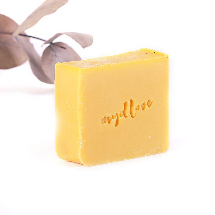 Prírodné mydlo z kozieho mlieka rakytník na suchú pokožku