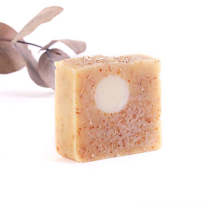 prírodné mydlo z kozieho mlieka škoricové na suchú pokožku