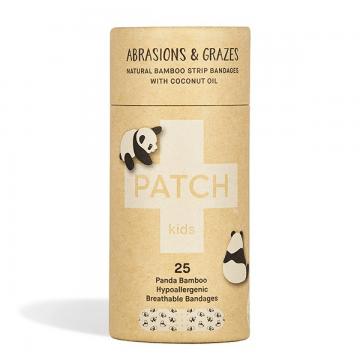kompostovateľné bambusové náplaste panda