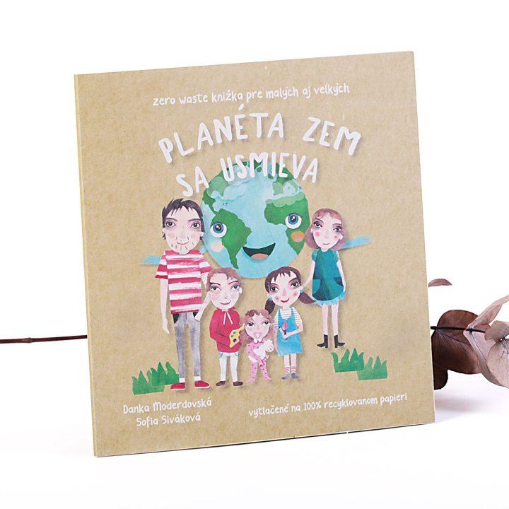 detská eko kniha pre deti Planéta Zem sa usmieva