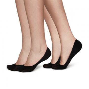 recyklované eko ponožky do balerínok čierne