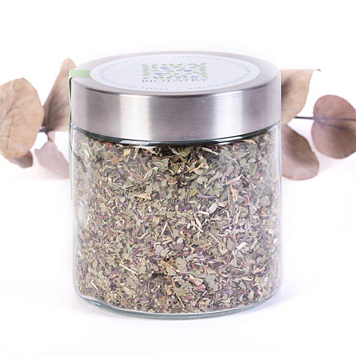 mätový sypaný čaj bio