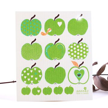 ekologická hubka jabĺčka
