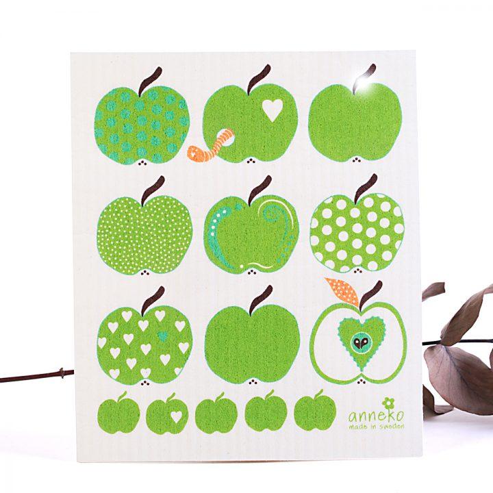 ekologická prírodná hubka na utieranie jabĺčka
