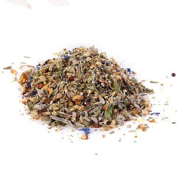 sypaný bylinkový čaj bio na boľavé hrdlo