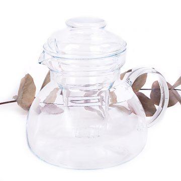 sklenený čajník 1,5l
