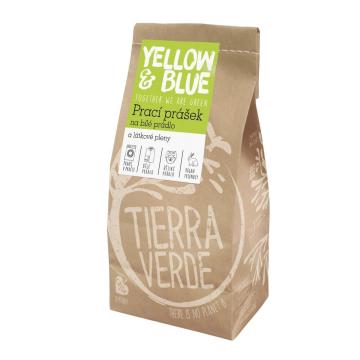 Ekologický prací prášok z mydlových orechov na bielu bielizeň a látkové plienkyTierra Verde