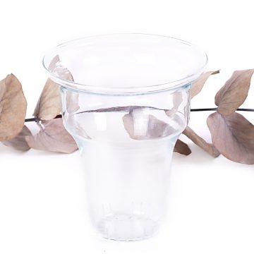sklenená sitko na sypaný čaj