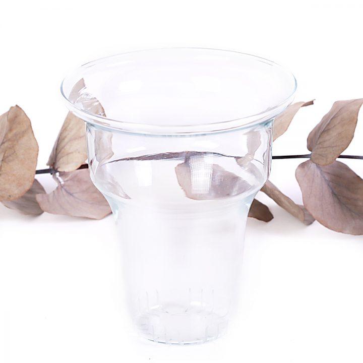 sklenená sitko na čaj