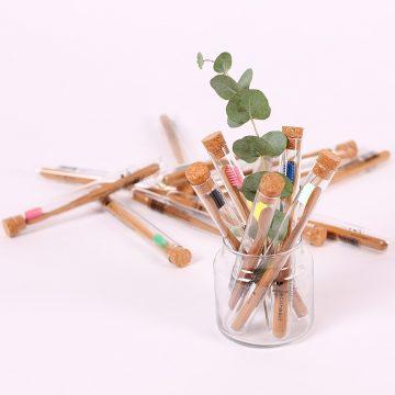 bambusové zubné kefky Ecoheart