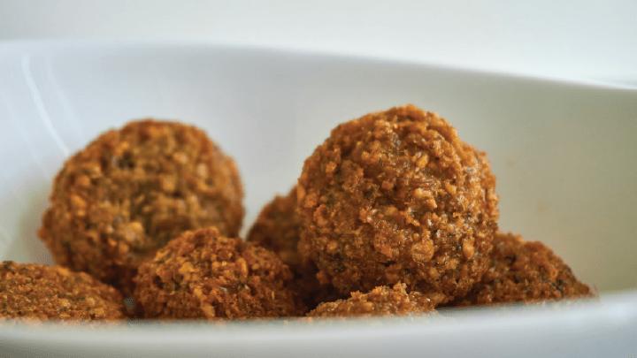 falafel - cícer v hlavnej úlohe