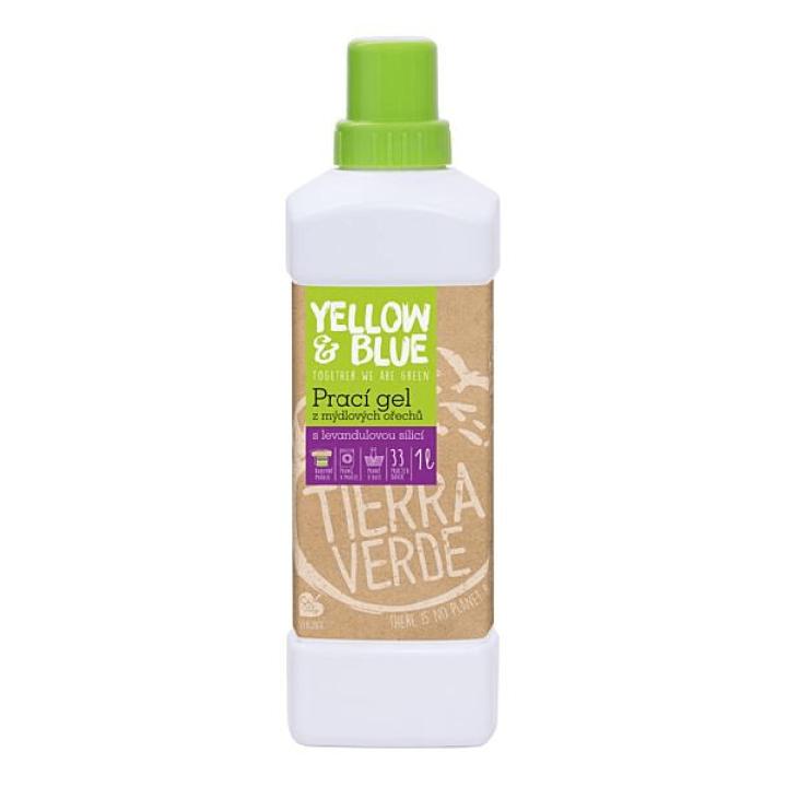 eko prírodný prací gél z mydlových orechov levanduľový Tierra Verde
