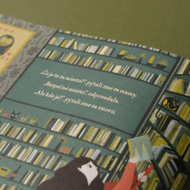 detská kniha detská knižka Cesta za hranice