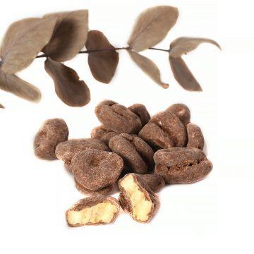 lyofilizované banány v mliečnej čokoláde