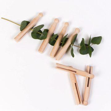 drevené kolíky na prádlo