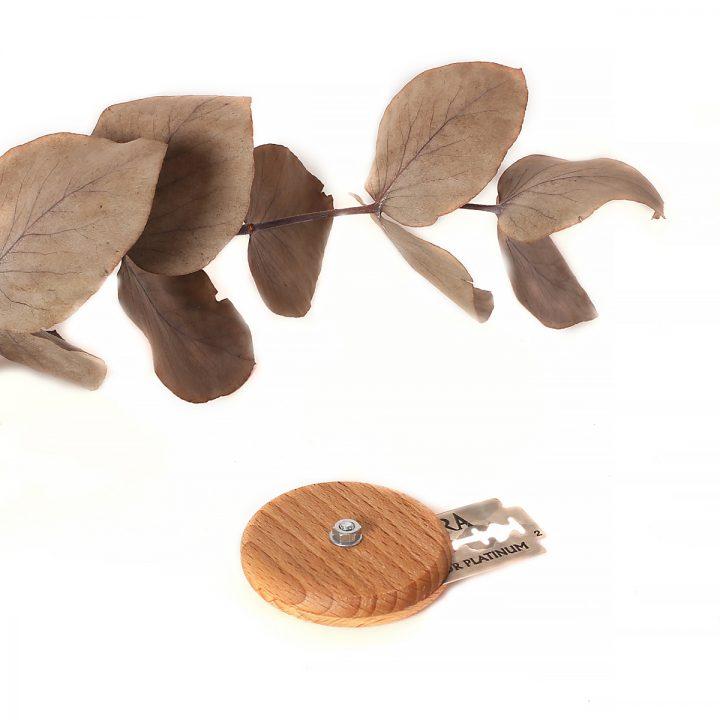 narezávatko na chlieb drevené okrúhle