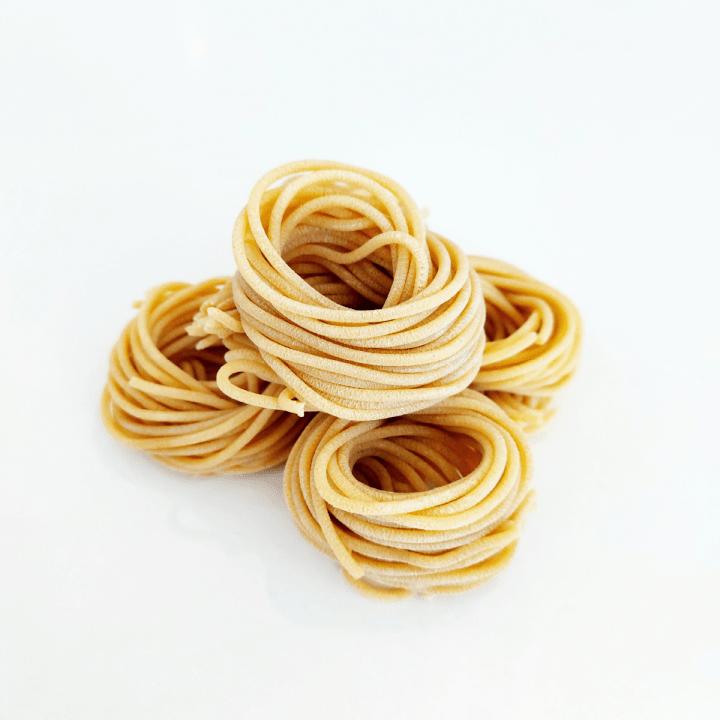 domáce semolinové cestoviny vegan špagety natural