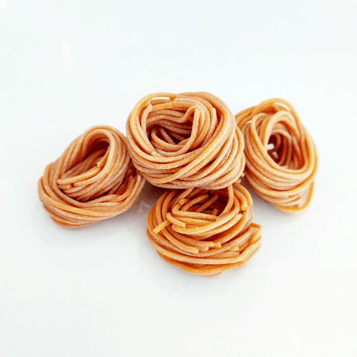 domáce semolinové cestoviny vegan špagety