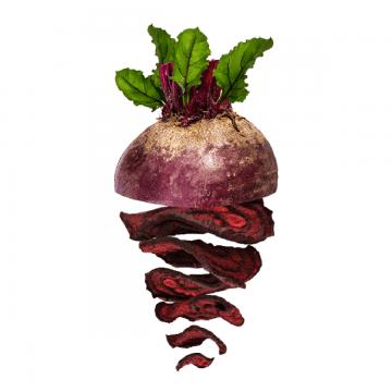 Cviklové zeleninové čipsy zdravé