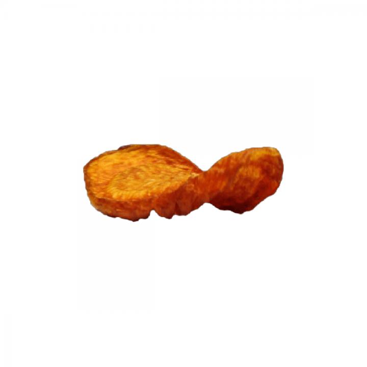 Mrkvové zeleninové čipsy zdravé single
