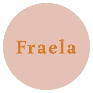 slovenské prírodné rúže Fraela logo
