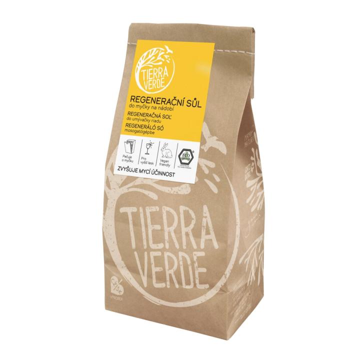 Regeneračná soľ do umývačky riadu eko Tierra Verde