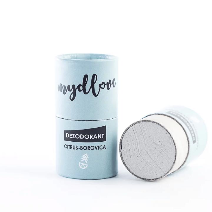 prírodný deodorant Mydlove CITRUS - BOROVICA