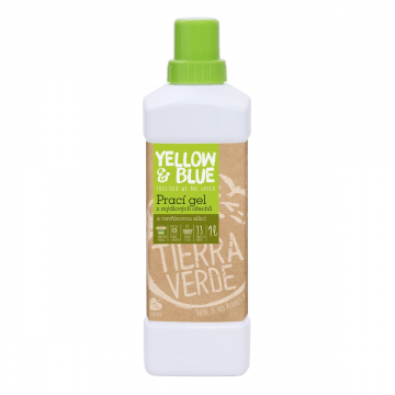 prírodný prací gél na riad z mydlovýchorechov vavrín kubébový Tierra Verde