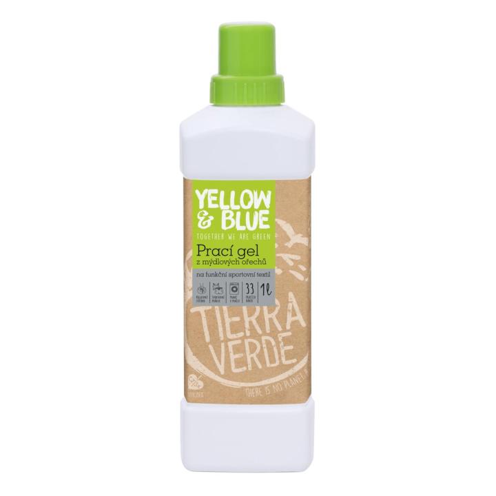 prírodný prací gél z mydlových orechov koloidné striebro Tierra Verde