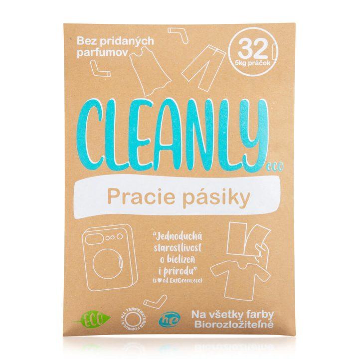ekologické pracie plátky Cleanly