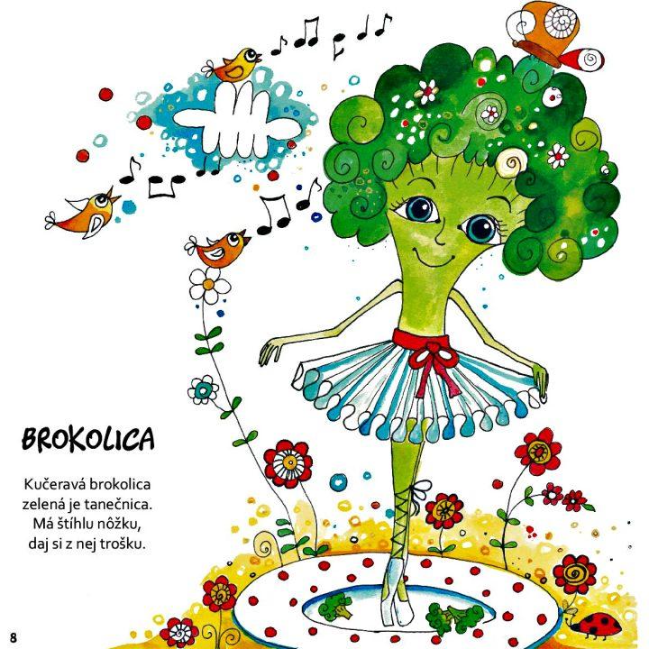 detská knižka pre deti Moji zeleninkoví kamaráti