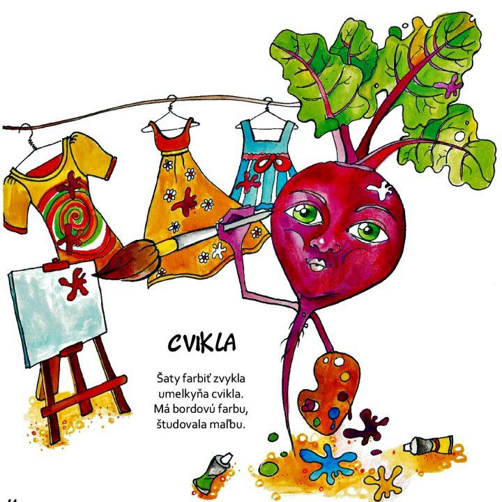 detská kniha pre deti Moji zeleninkoví kamaráti