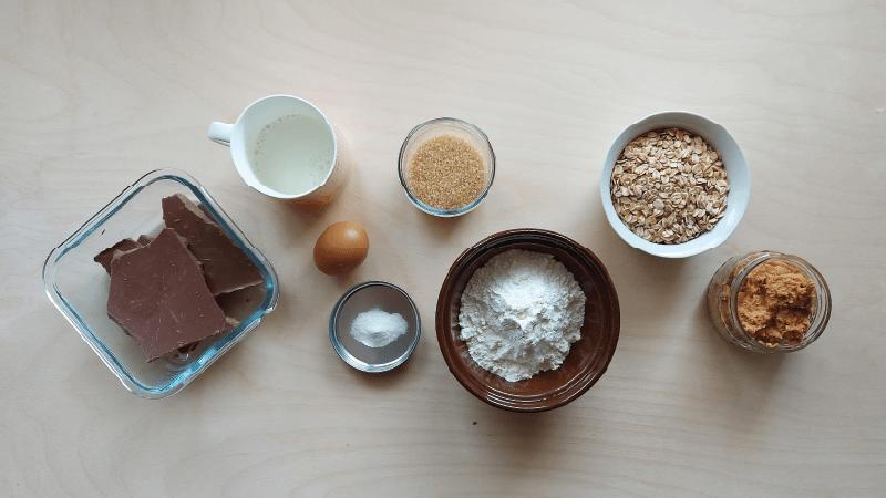 arašidové cookies ingrediencie